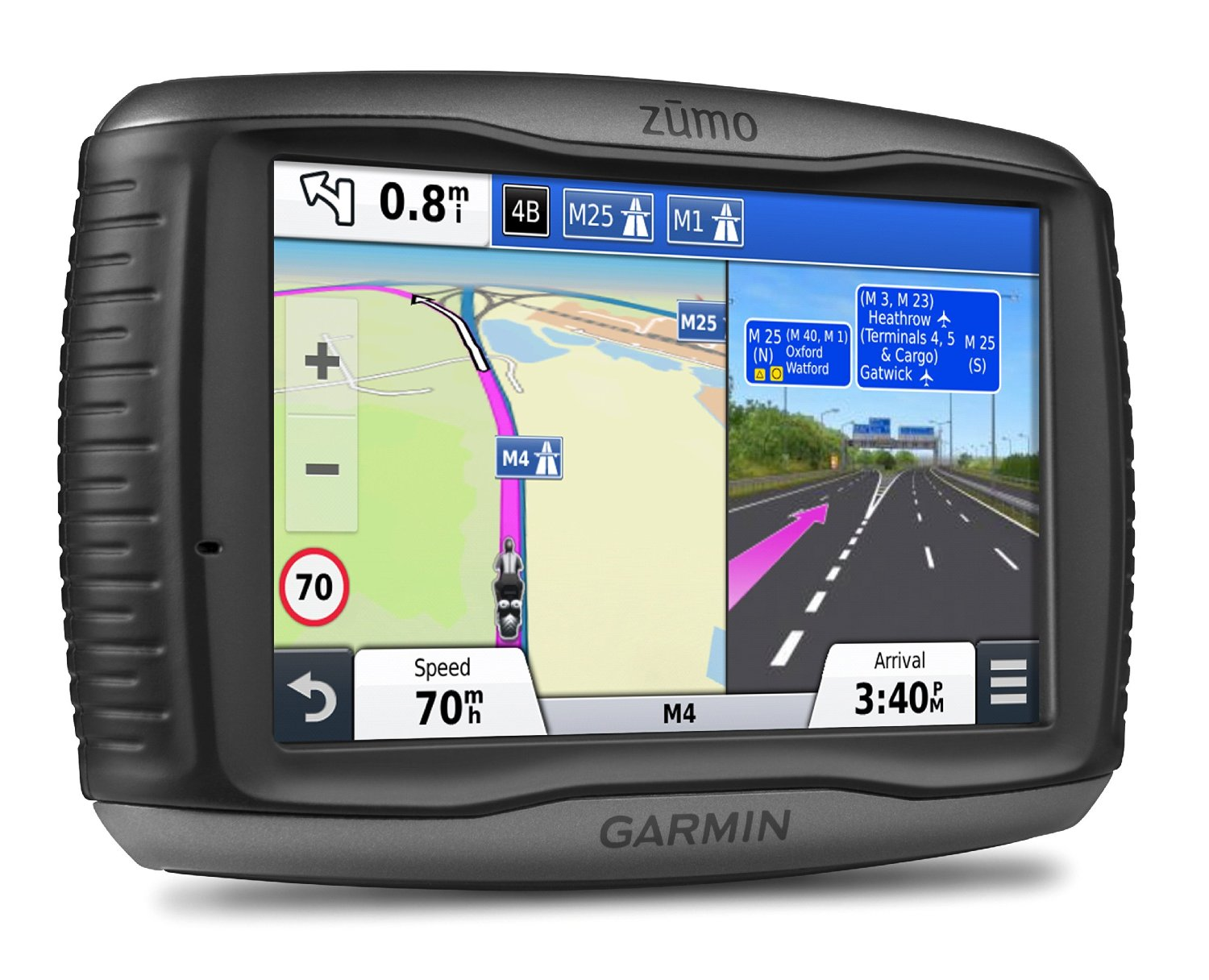 garmin zumo 590lm test motorrad navigation. Black Bedroom Furniture Sets. Home Design Ideas