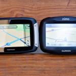 Vergleich TomTom Rider 400 und Garmin 390 Zumo