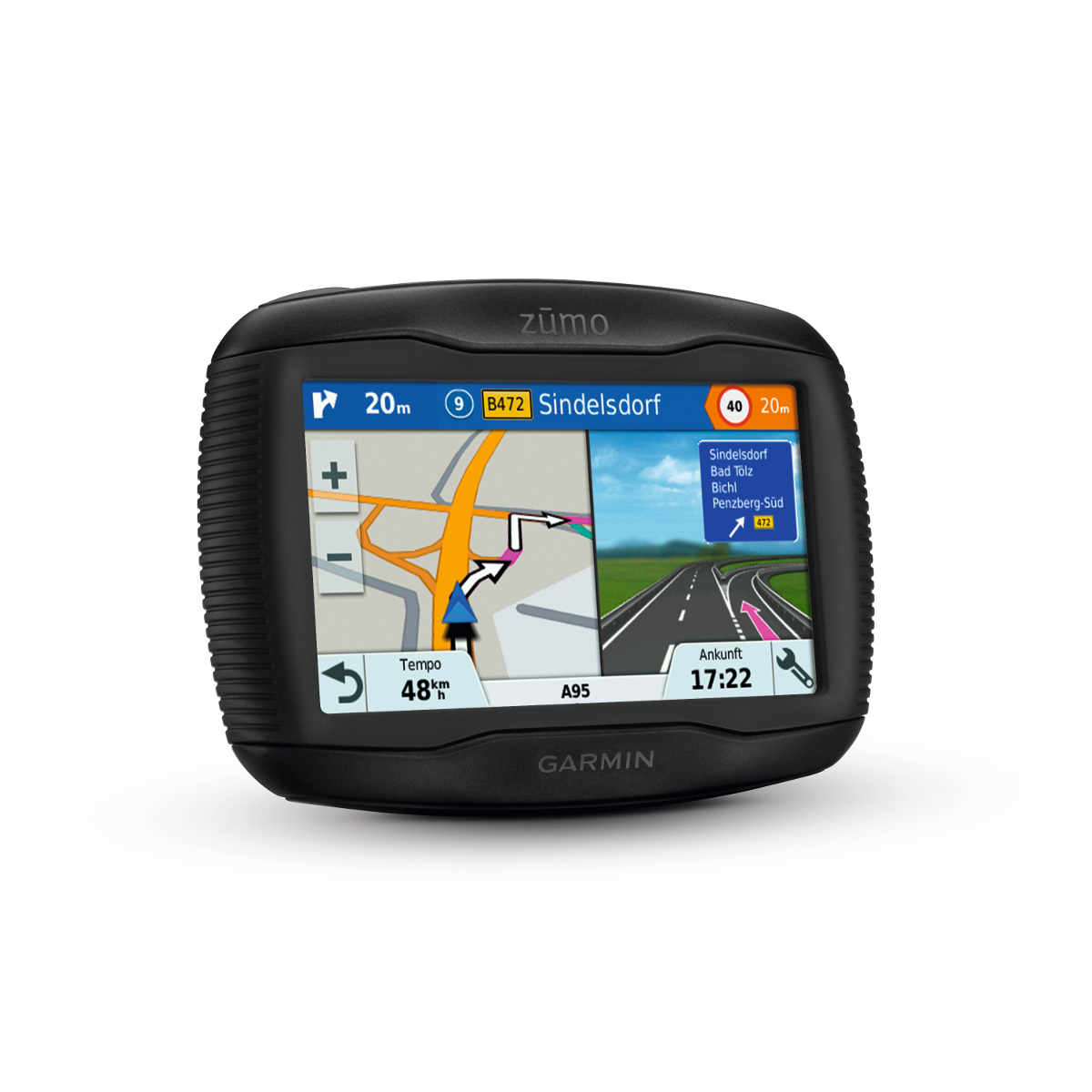 garmin zumo 395lm test motorrad navigation. Black Bedroom Furniture Sets. Home Design Ideas