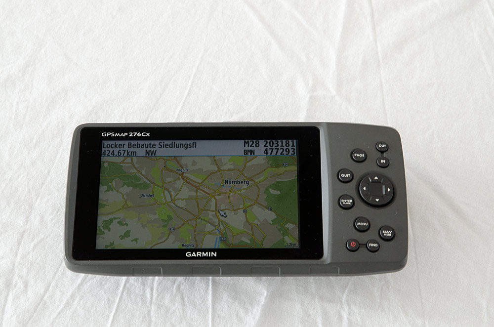 garmin gpsmap 276cx testbericht motorrad navigation. Black Bedroom Furniture Sets. Home Design Ideas