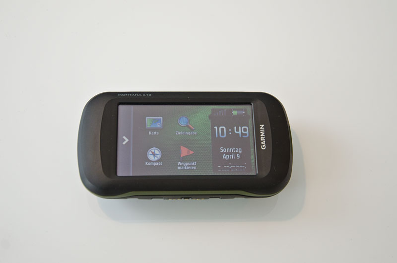 garmin montana 610 im test outdoor navigation. Black Bedroom Furniture Sets. Home Design Ideas